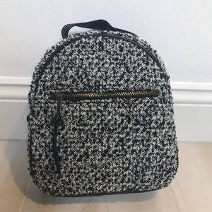 NEW Girls Mini Backpack Art Class Tweed Black